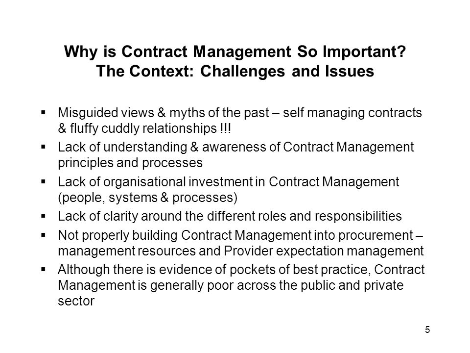 Why is Contract Management So Important