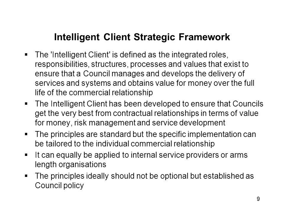 Intelligent Client Strategic Framework