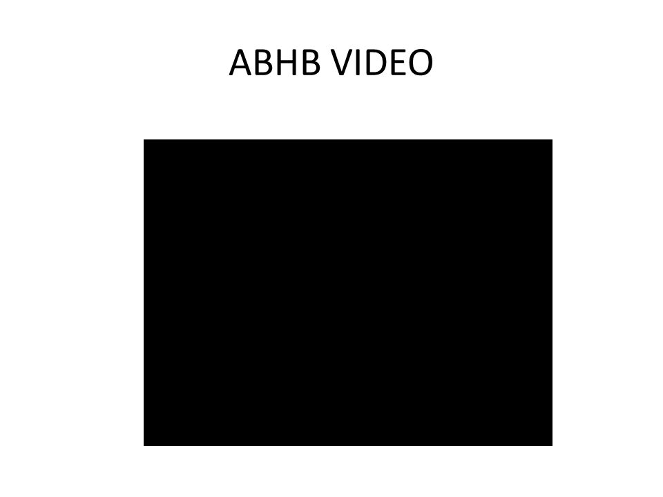 ABHB VIDEO