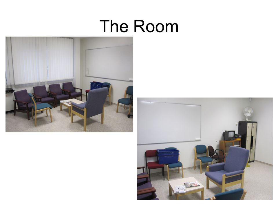 The Room We meet regularly in a room set up to share our learning between all our health and social care interprofessional groups.
