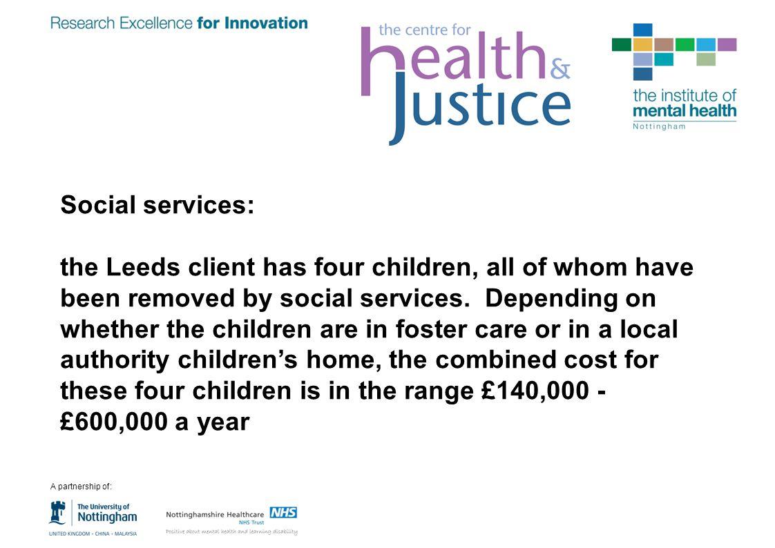 Social services: