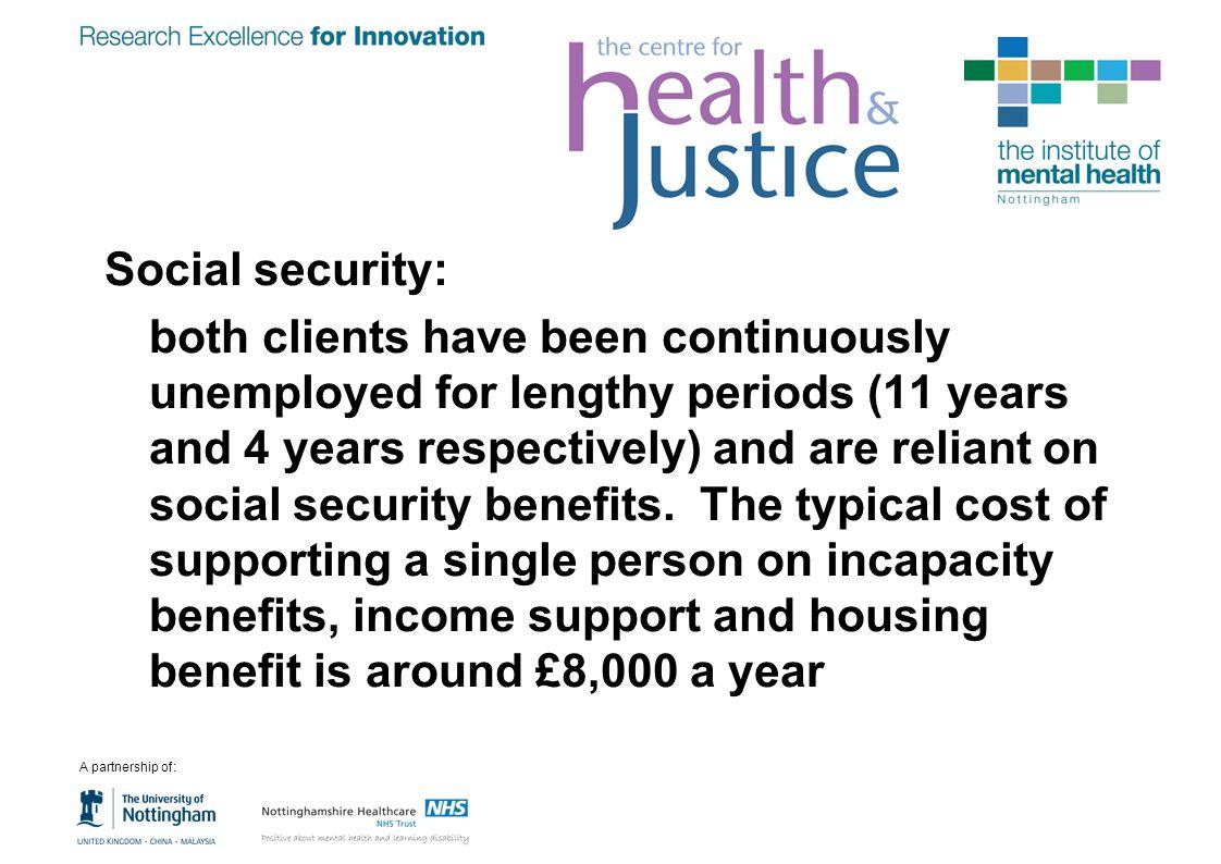 Social security: