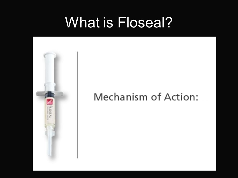 What is Floseal