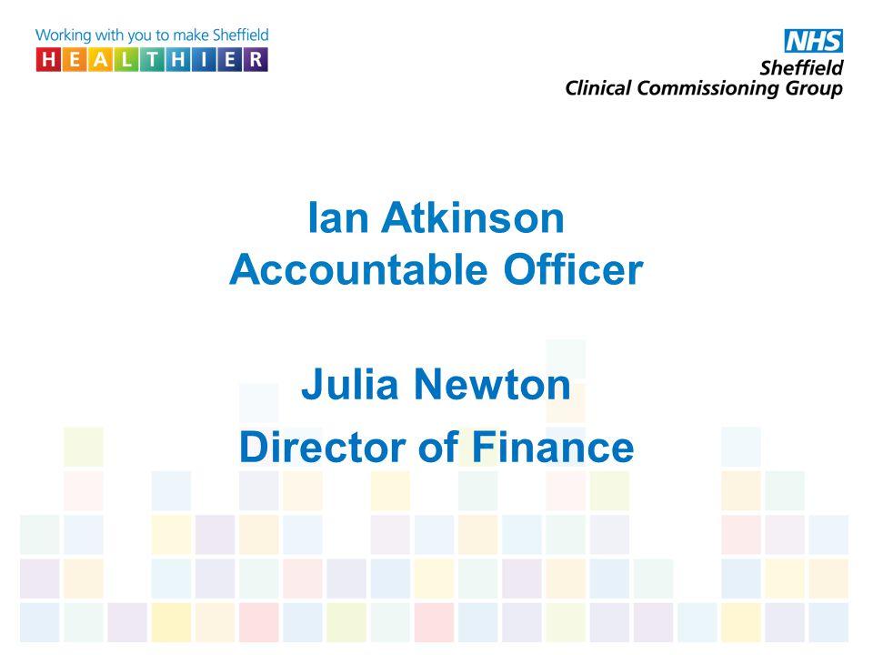 Ian Atkinson Accountable Officer