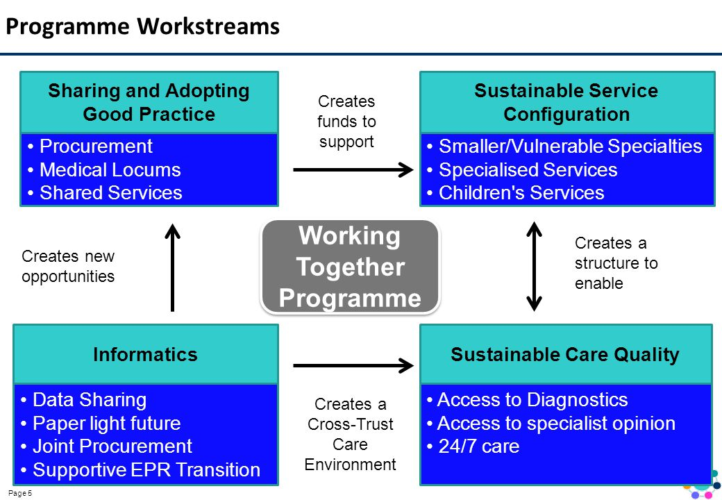 Programme Workstreams