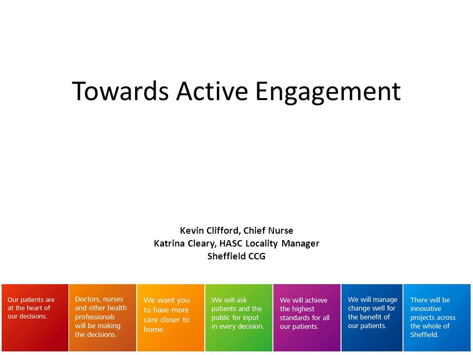 Towards Active Engagement