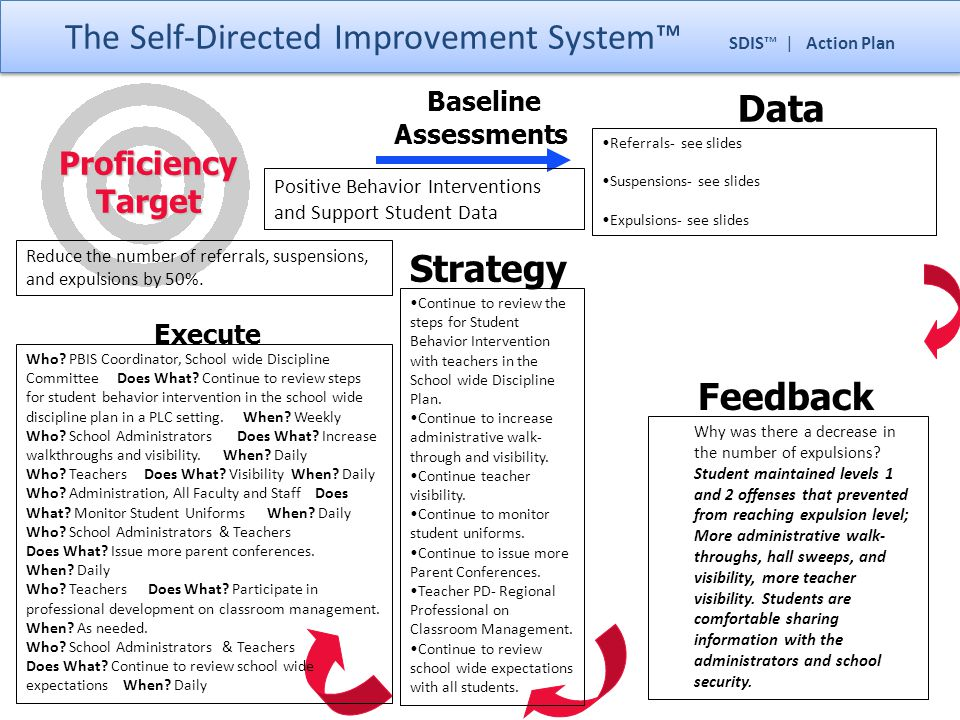 The Self-Directed Improvement System™ SDIS™ | Action Plan