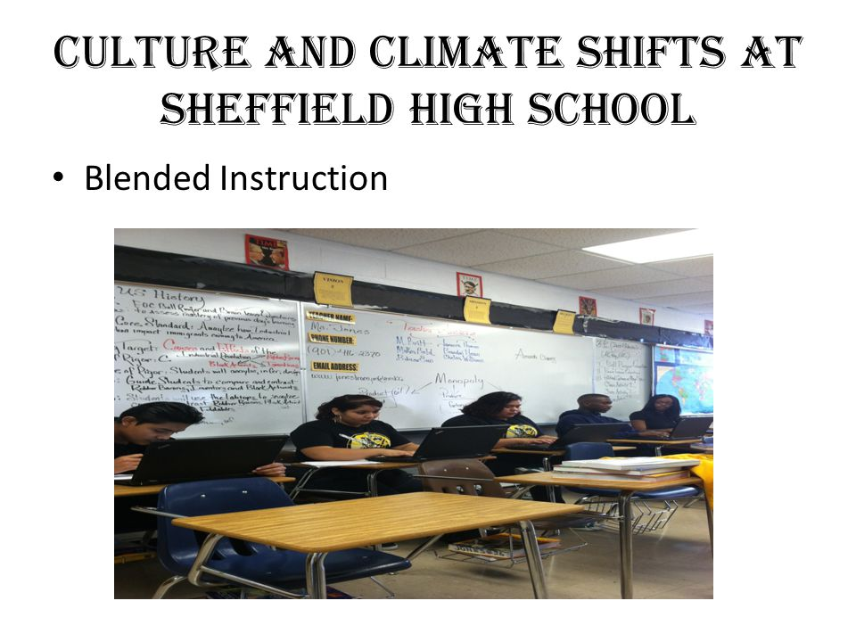 Culture and Climate Shifts at Sheffield High School