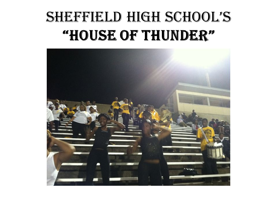 Sheffield High School's House of Thunder