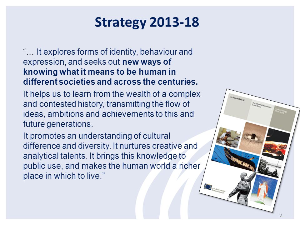 Strategy 2013-18