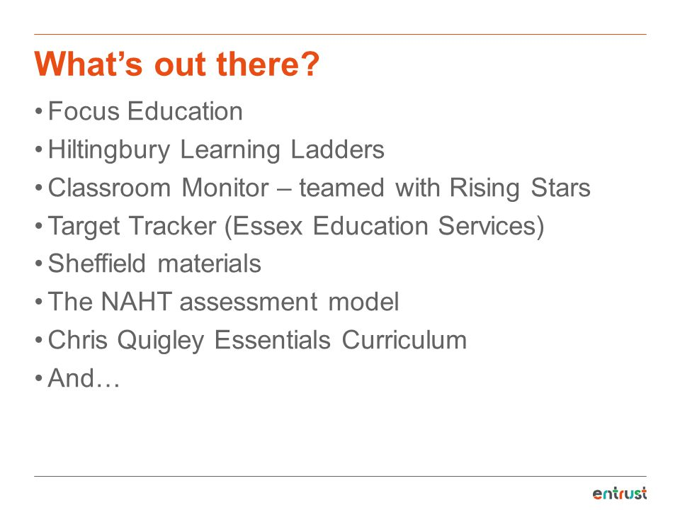 What's out there Focus Education Hiltingbury Learning Ladders