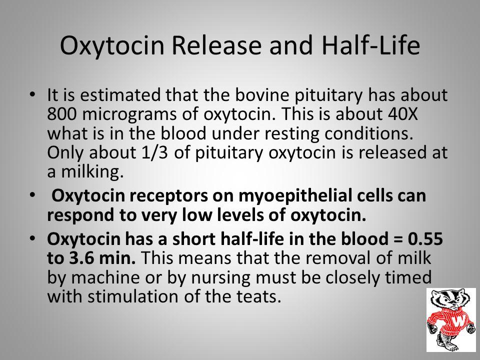 Oxytocin Release and Half-Life