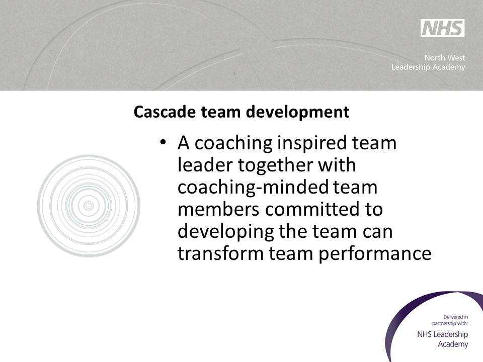 Cascade team development