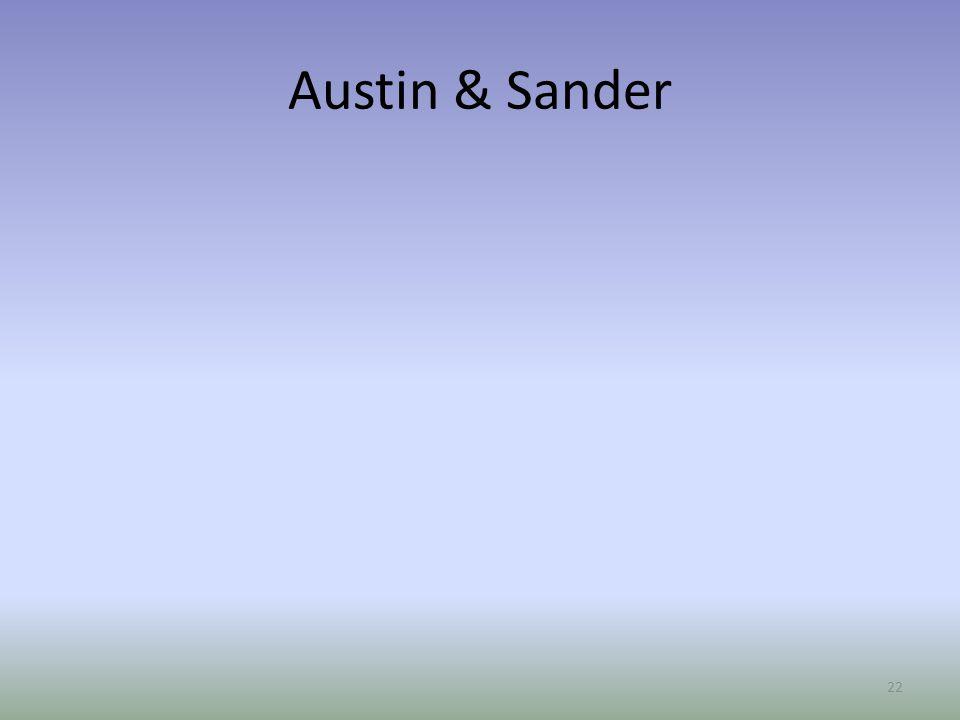 Austin & Sander