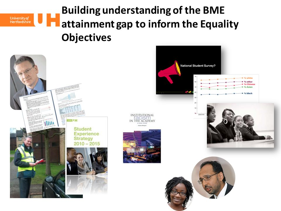 Building understanding of the BME attainment gap to inform the Equality Objectives