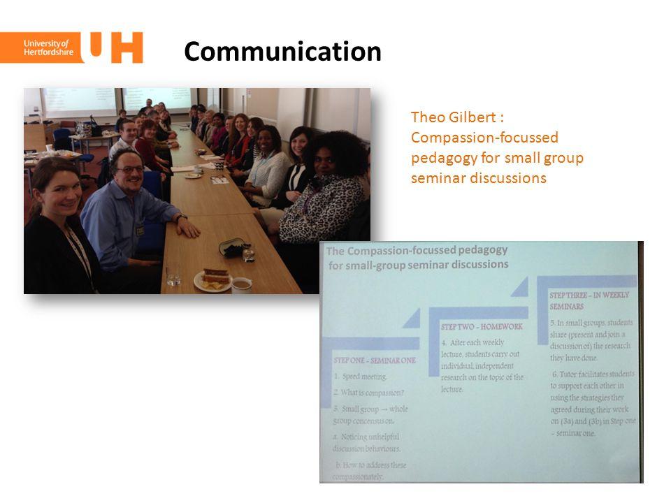 Communication Theo Gilbert :
