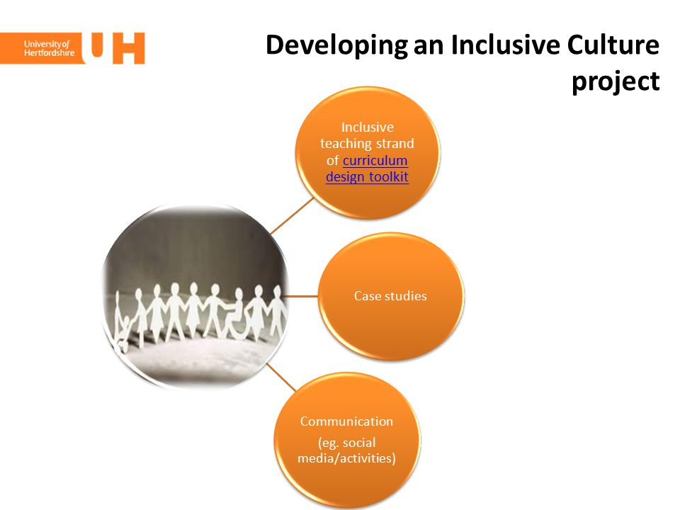 Developing an Inclusive Culture project
