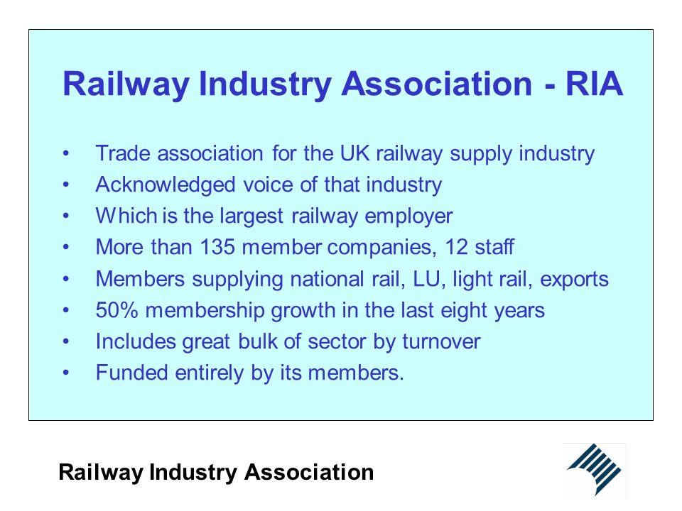 Railway Industry Association - RIA