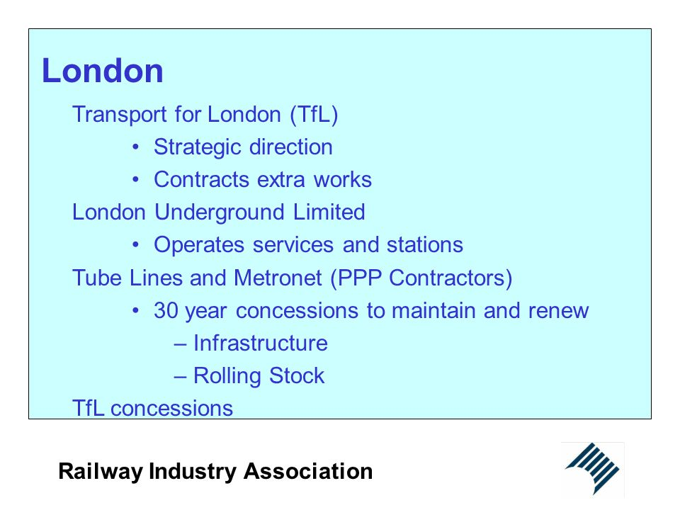 London Transport for London (TfL) Strategic direction