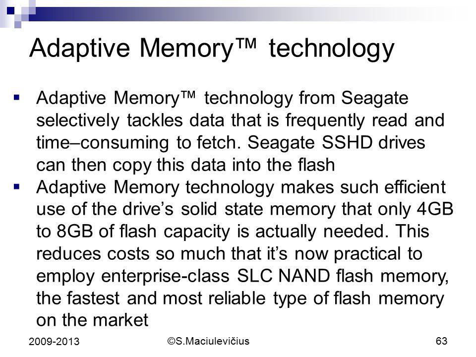 Adaptive Memory™ technology