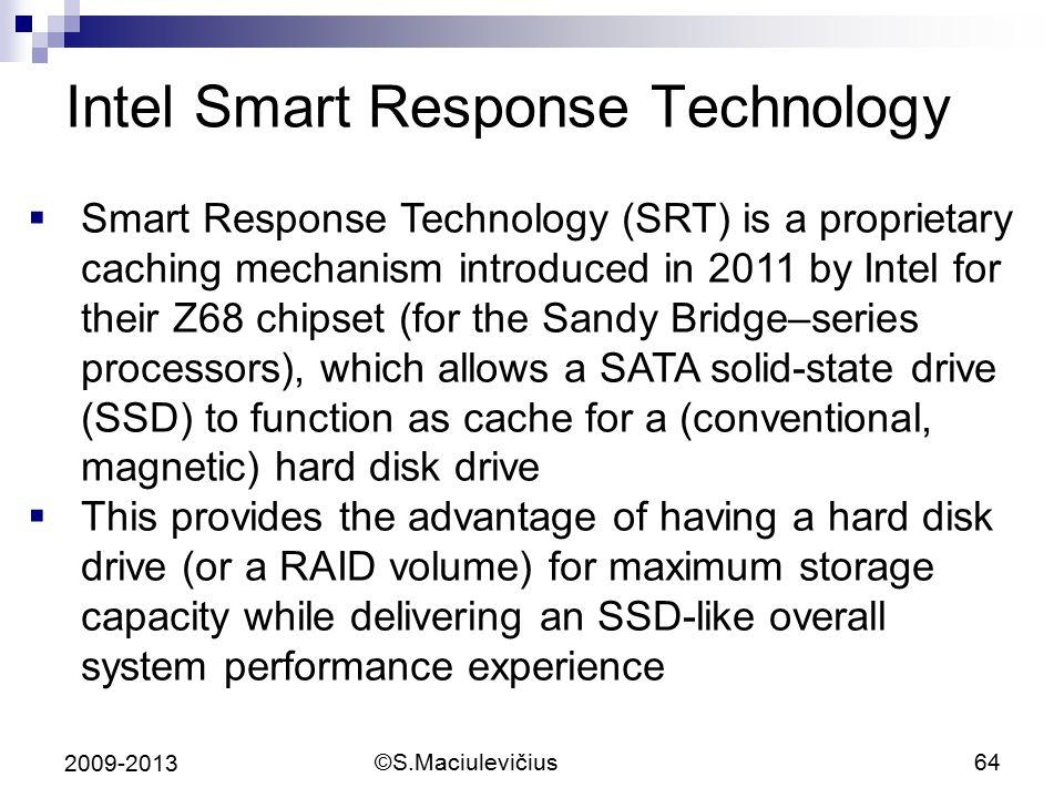 Intel Smart Response Technology