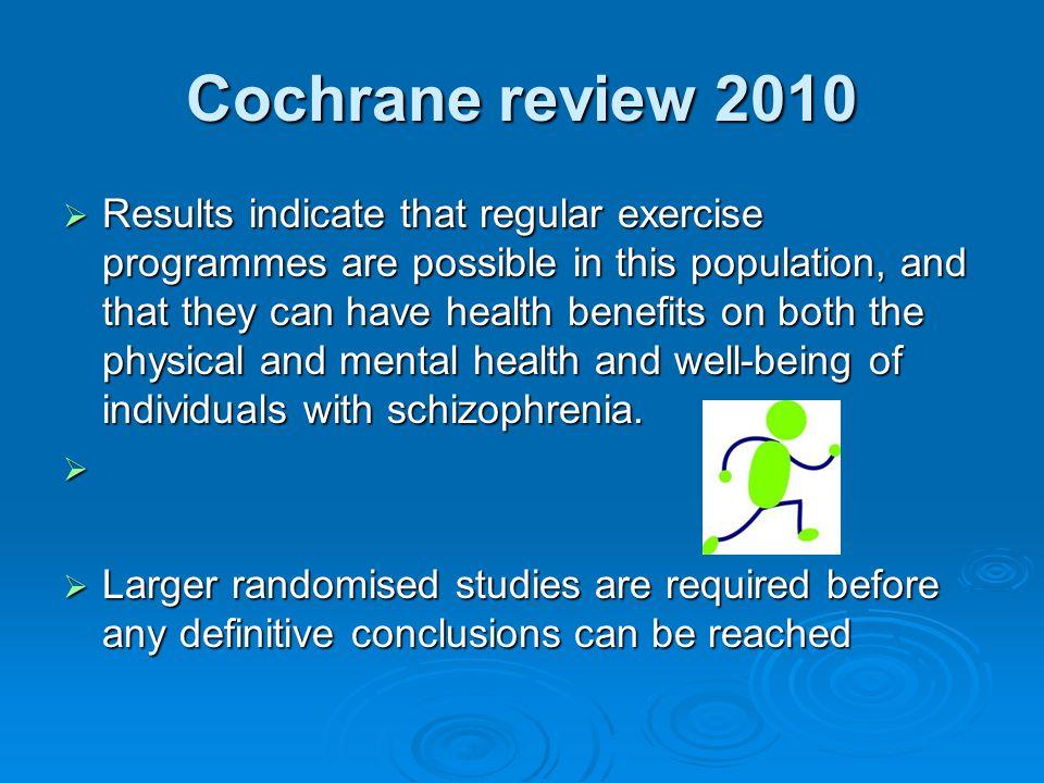 Cochrane review 2010