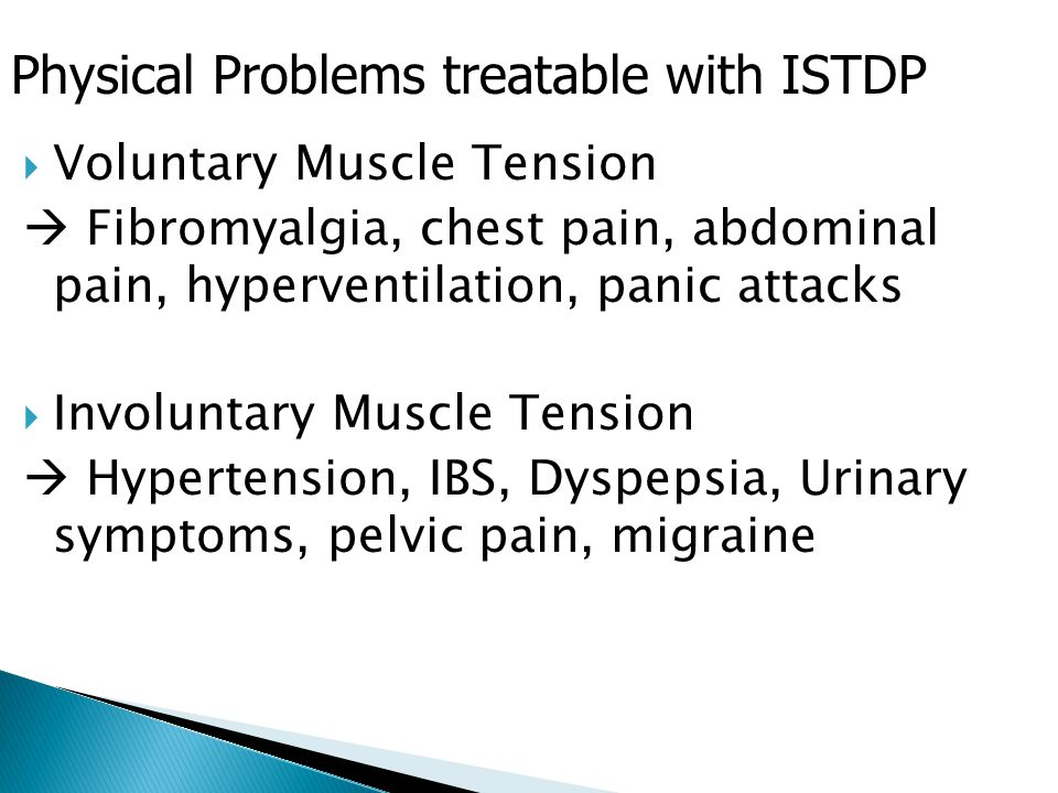 Physical Problems treatable with ISTDP