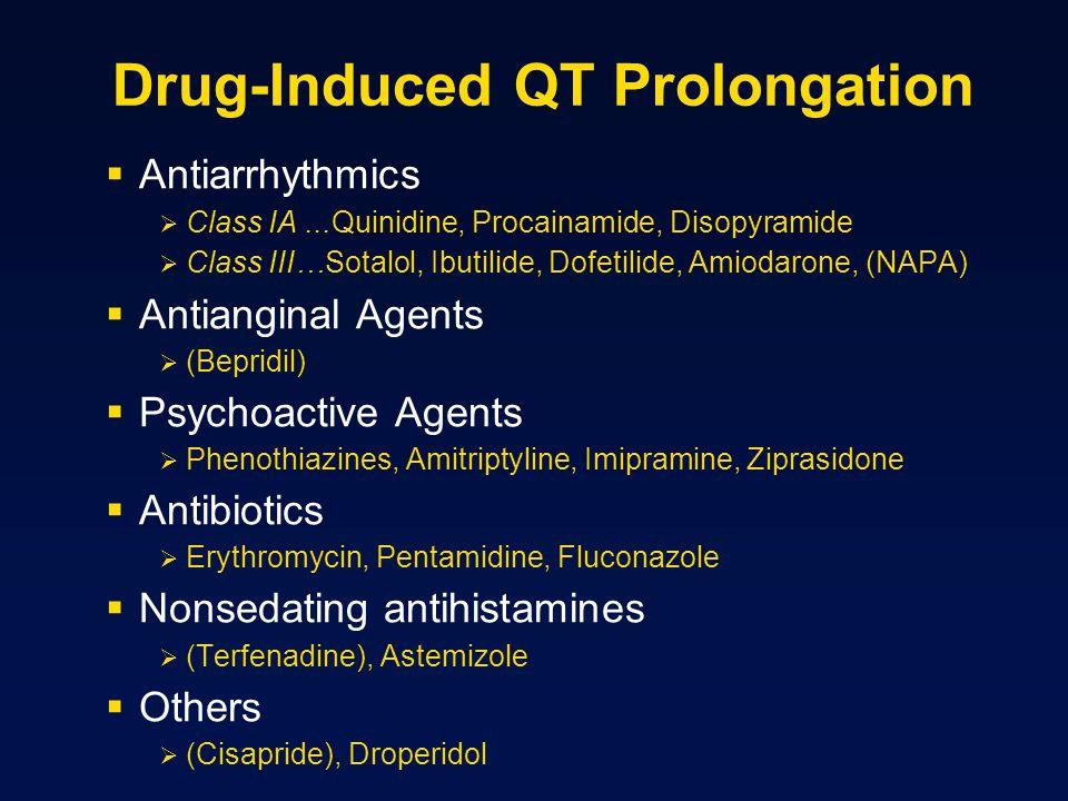 Drug-Induced QT Prolongation