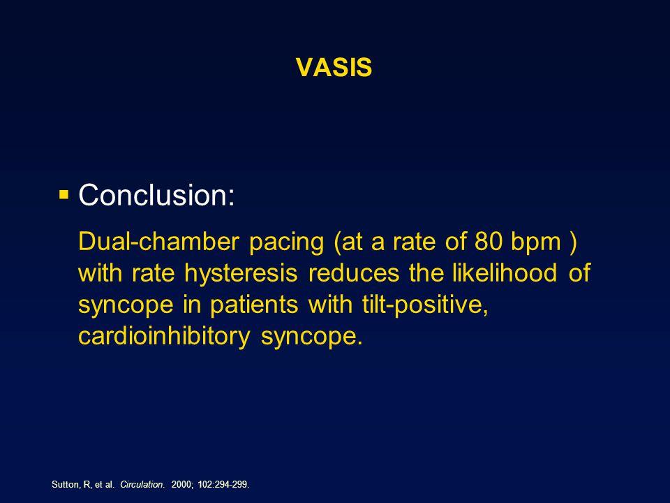 VASIS Conclusion: