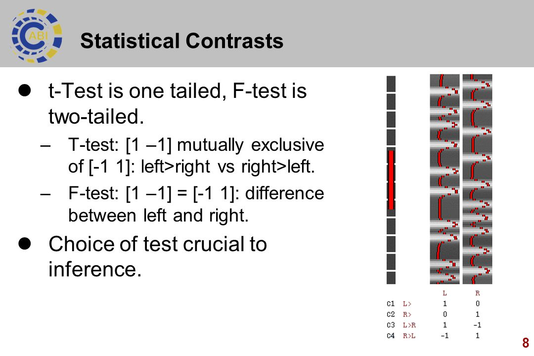 Statistical Contrasts