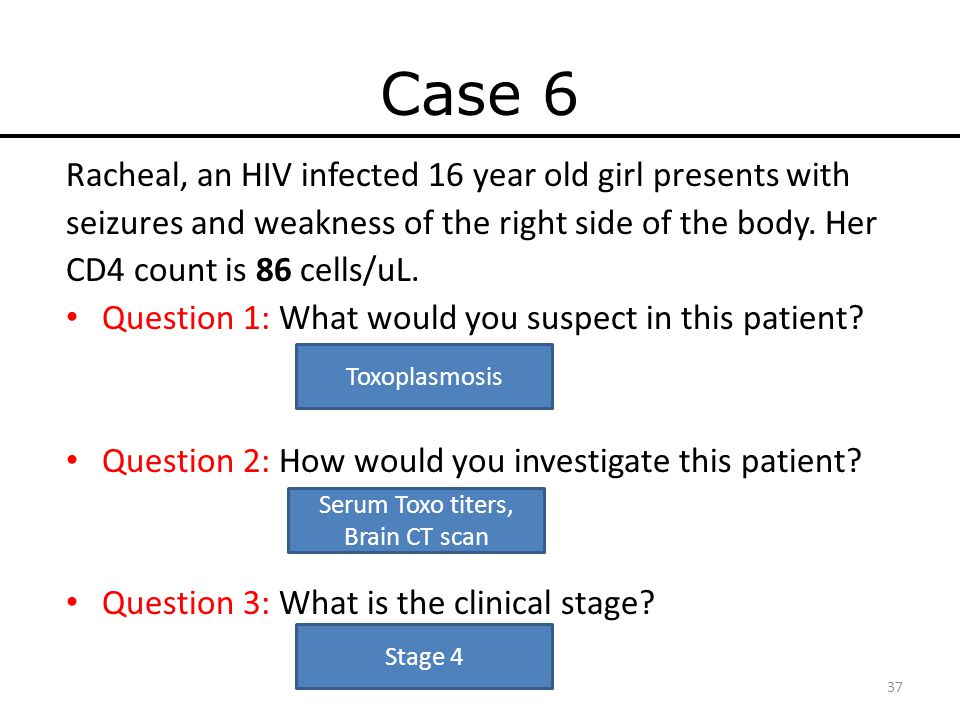 Hiv case study answers