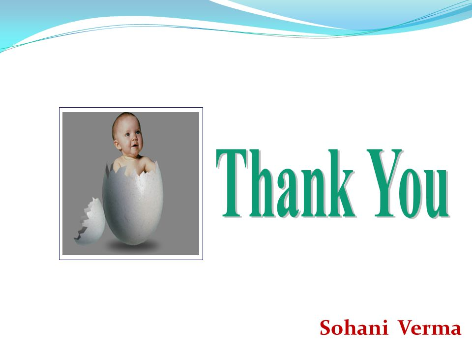 Thank You Sohani Verma