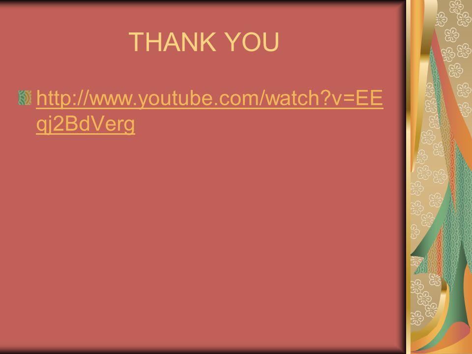 THANK YOU http://www.youtube.com/watch v=EEqj2BdVerg