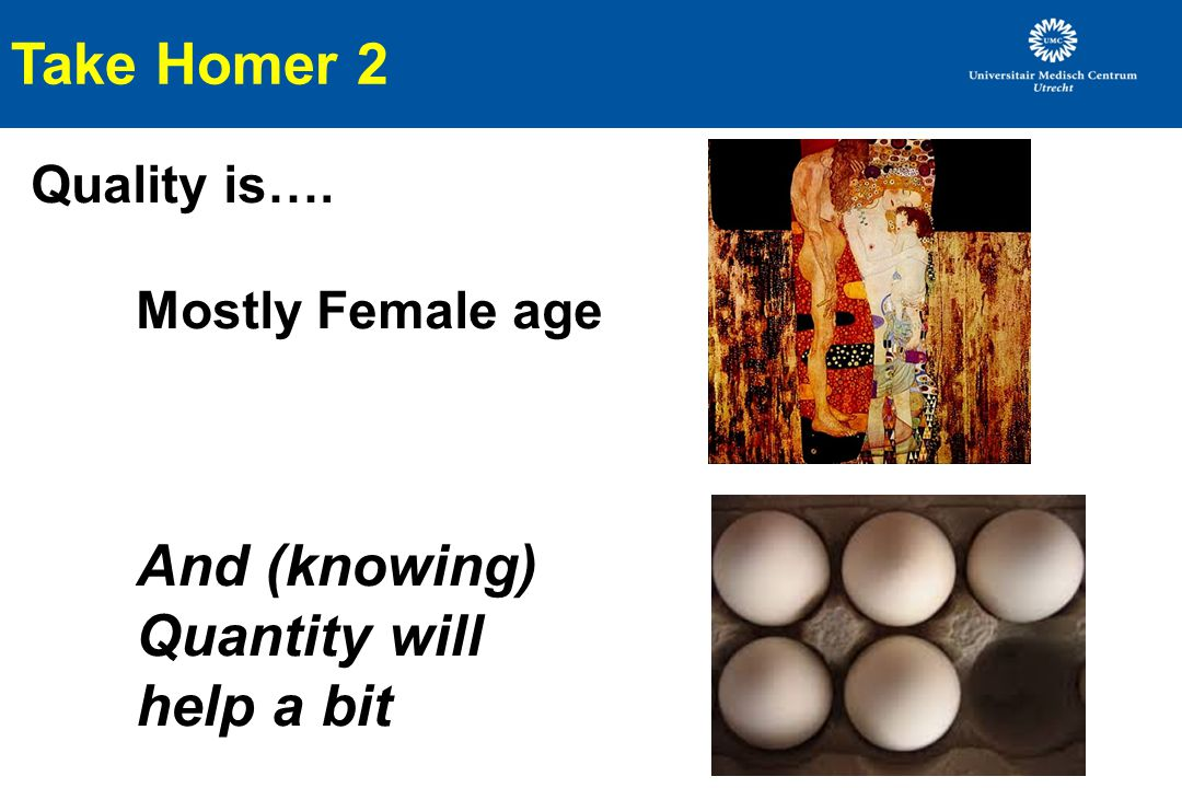 Take Homer 2 Quality is…. Mostly Female age