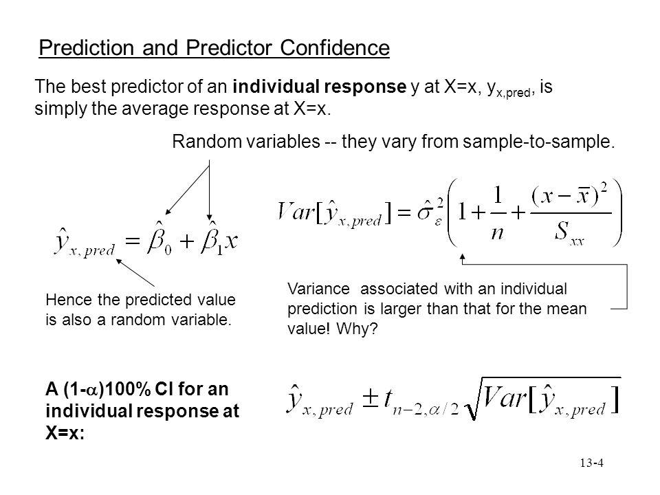 Prediction and Predictor Confidence