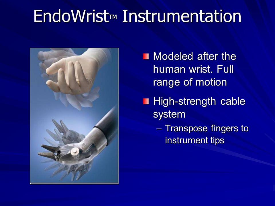 EndoWristTM Instrumentation