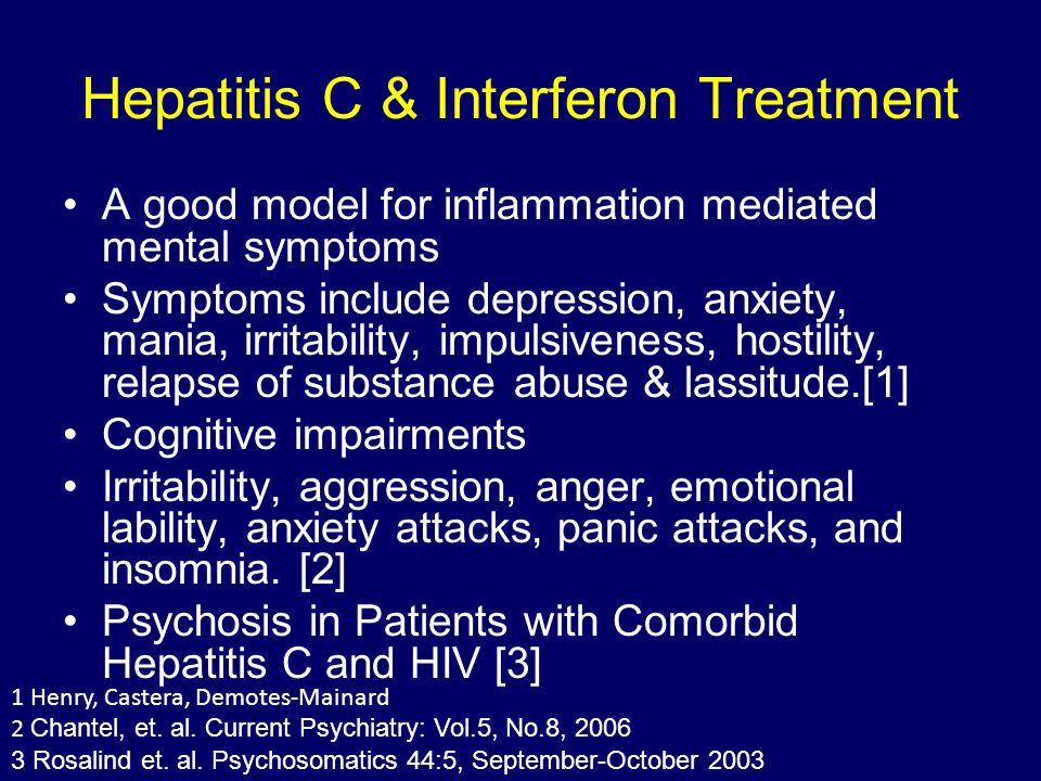 Hepatitis C & Interferon Treatment