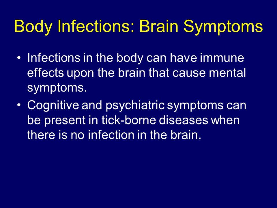 Body Infections: Brain Symptoms