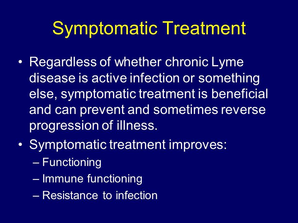 Symptomatic Treatment