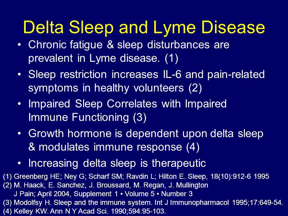 Delta Sleep and Lyme Disease