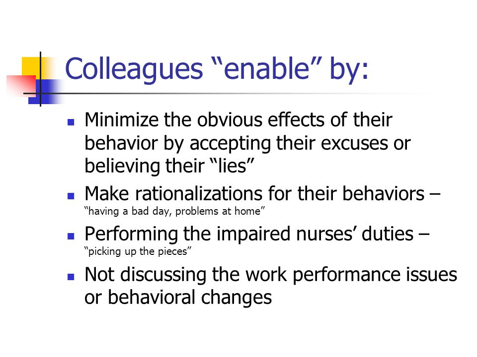 Colleagues enable by: