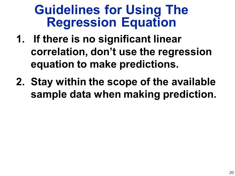 Guidelines for Using The
