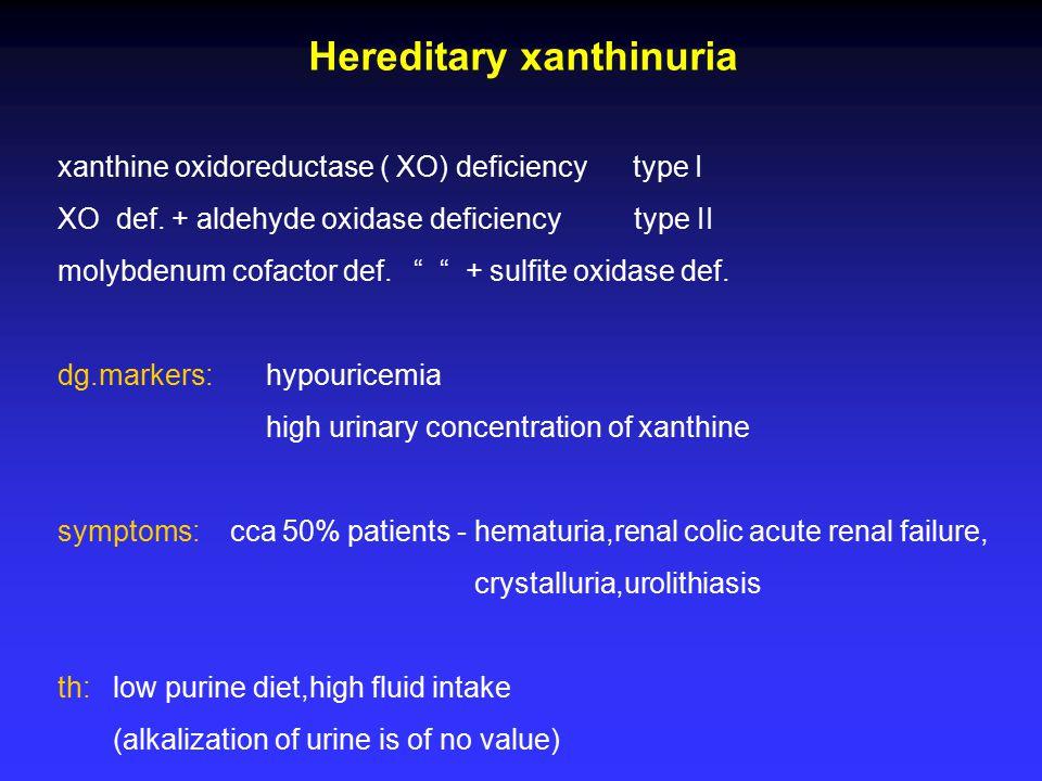 Hereditary xanthinuria