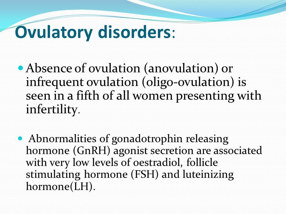 Ovulatory disorders: