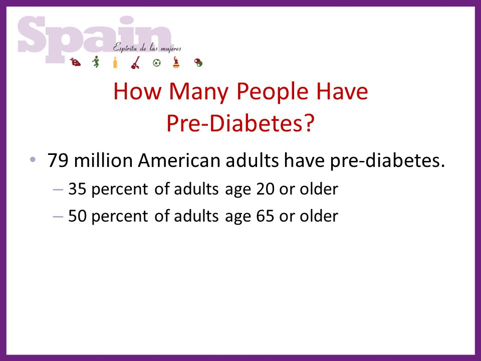 How Many People Have Pre-Diabetes
