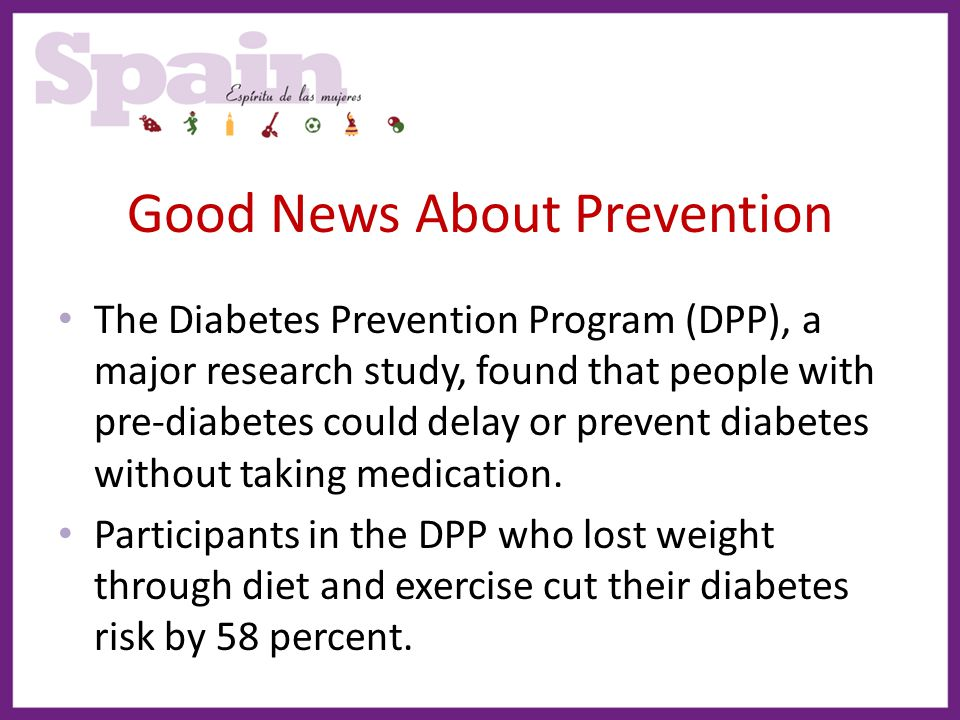 Good News About Prevention