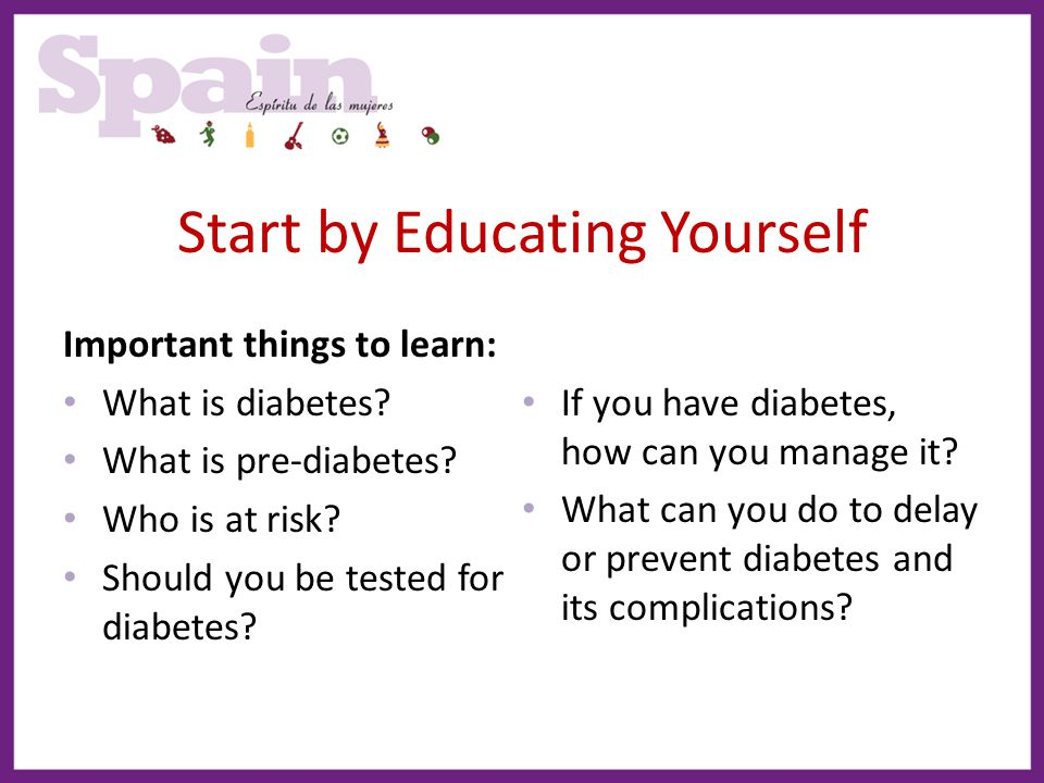 Start by Educating Yourself