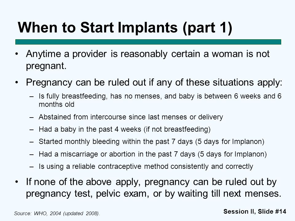 When to Start Implants (part 1)