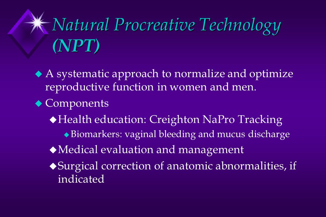 Natural Procreative Technology (NPT)