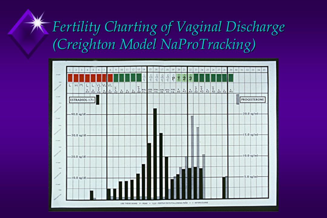 Fertility Charting of Vaginal Discharge (Creighton Model NaProTracking)